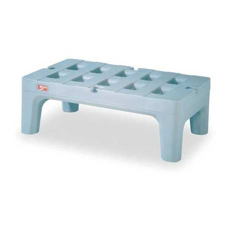 Dunnage Rack, 1500 lb., Antimicrb PE, 30 W