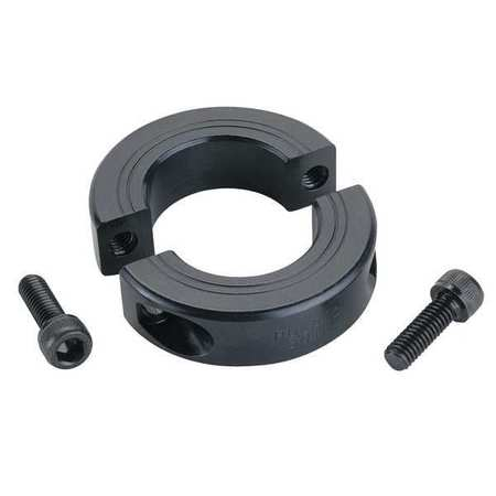 Shaft Collar, Clamp, 2Pc, 3/4 In, Steel