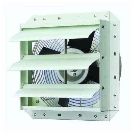 Exhaust Fan, 12 In, 115 V, 900 CFM