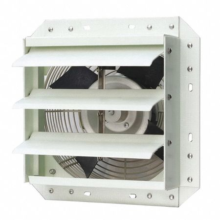 Exhaust Fan, 10 In, 115 V, 652 CFM
