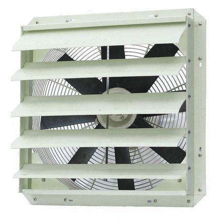 Exhaust Fan, 20 In, 115 V, 3800 CFM