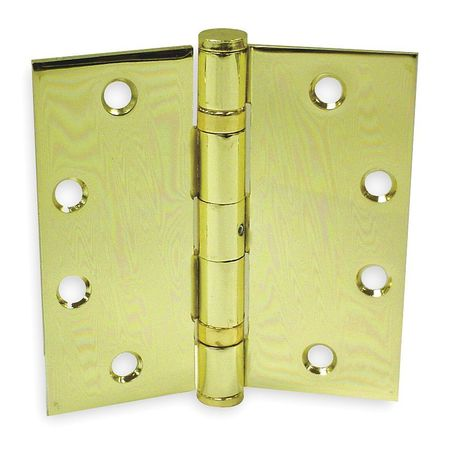Template, Ball, Bright Brass, 4.5x4.5, PK3