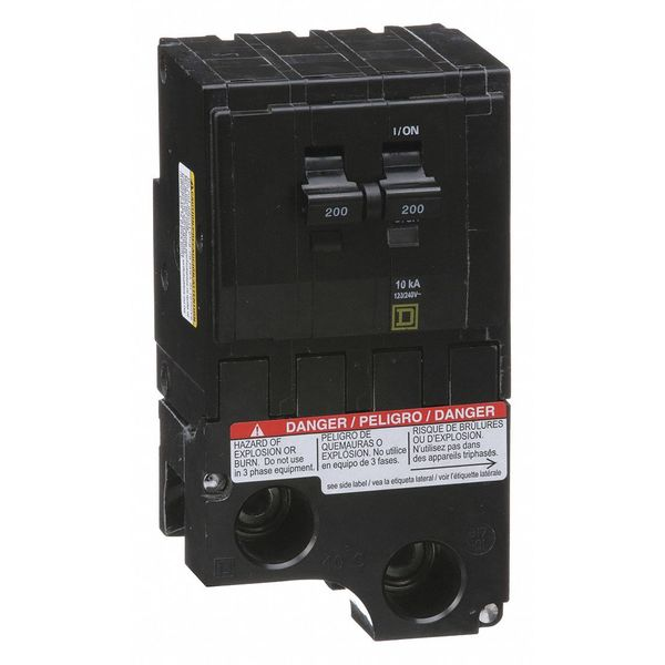 square d qo2200 2 pole 200 amp 240 volt circuit breaker tested ebay rh ebay com