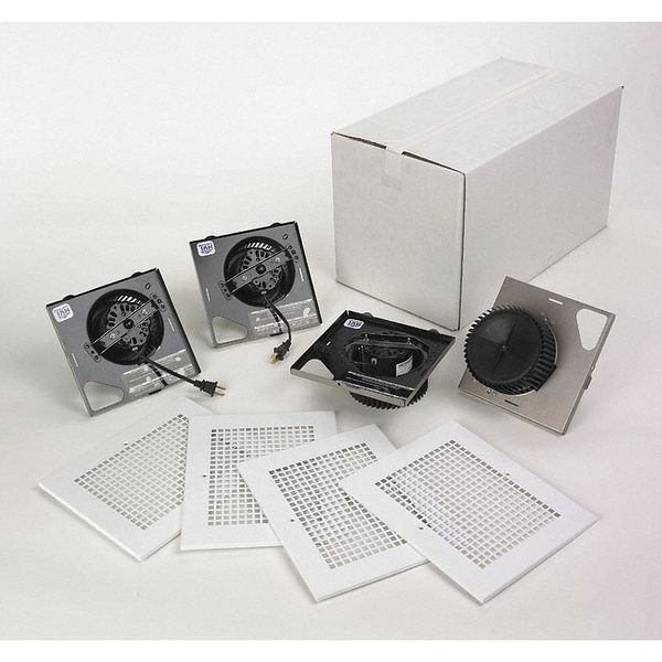 Project Pack Fans With Ceiling Radiation And Fire Dampers By Broan