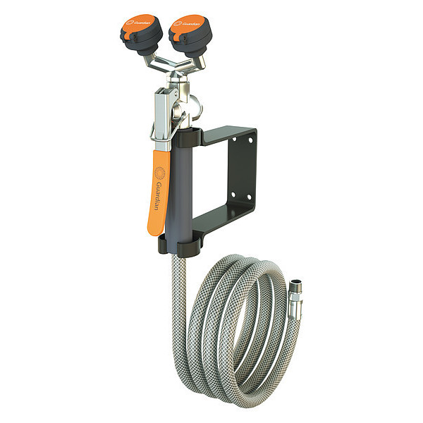 Rapture Guardian Equipment G5026 Dual Head Drench Hose,wall Mount,8 Ft. Tools & Workshop Equipment