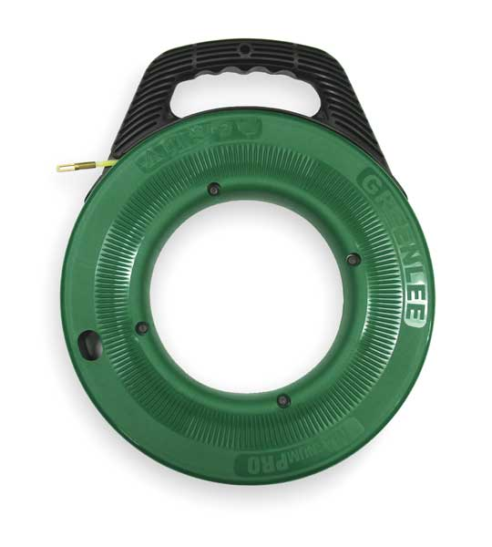 Greenlee ftn536 100 fish tape 3 16 in x 100 ft nylon ebay for Greenlee fish tape