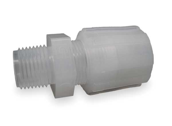 Pargrip pfa compression fittings by zoro