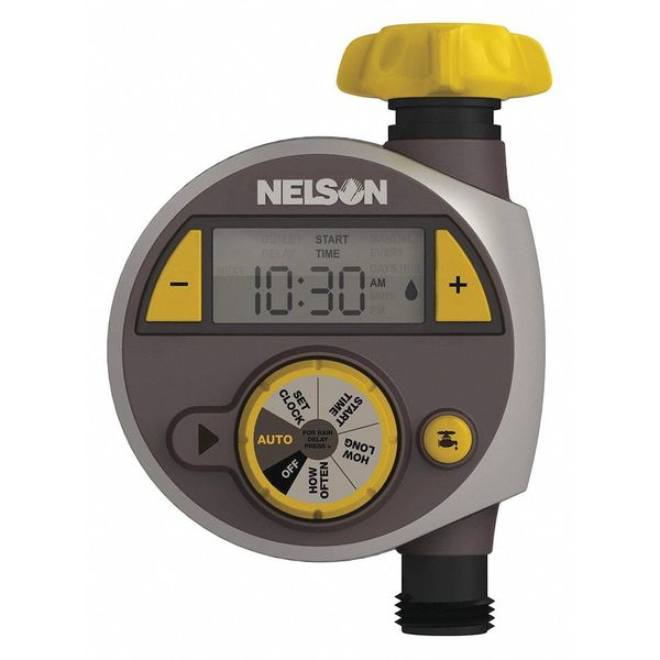 Preset Watering Timer 2 Cycle 360 Min NELSON 856674-1001