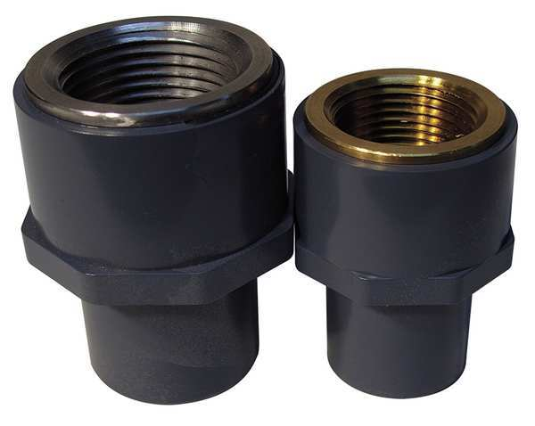 Transition fittings cpvc brass schedule by gf piping