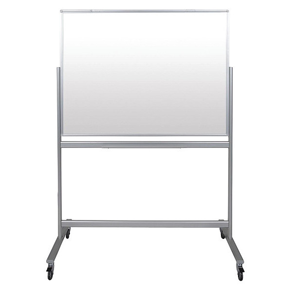 LUXOR MMGB4836 Glass Dry Erase Board, Magnetic Reversible