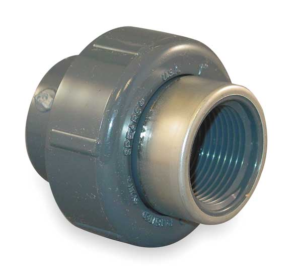 Reinforced schedule pvc pipe fittings by spears zoro