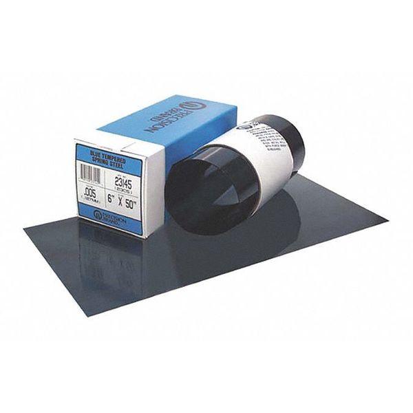 PRECISION BRAND 23280 Shim Stock,Sheet,Blue Steel,0.032 In,PK2
