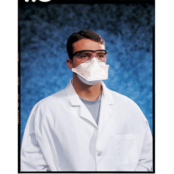 KIMBERLY-CLARK-46767-N95-Disposable-Healthcare-Respirator-Universal-Orange thumbnail 2