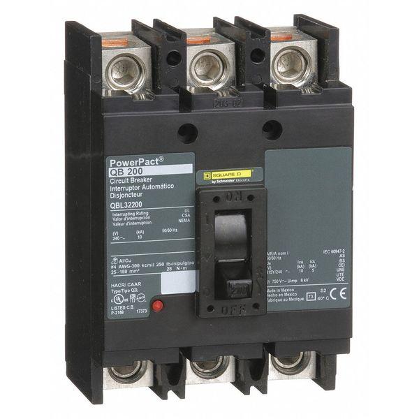 Square D QBL32200 3 Pole 200 Amp Circuit Breaker | eBay
