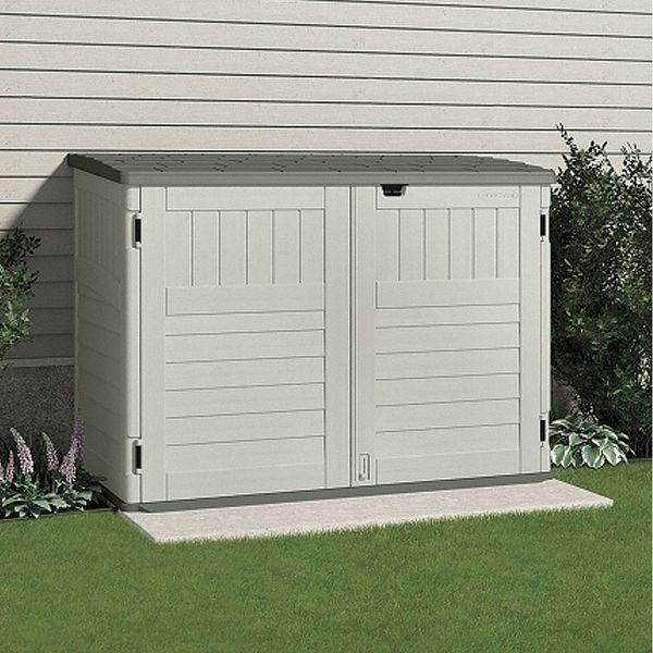 Beautiful 2 Door Outdoor Storage Cabinet