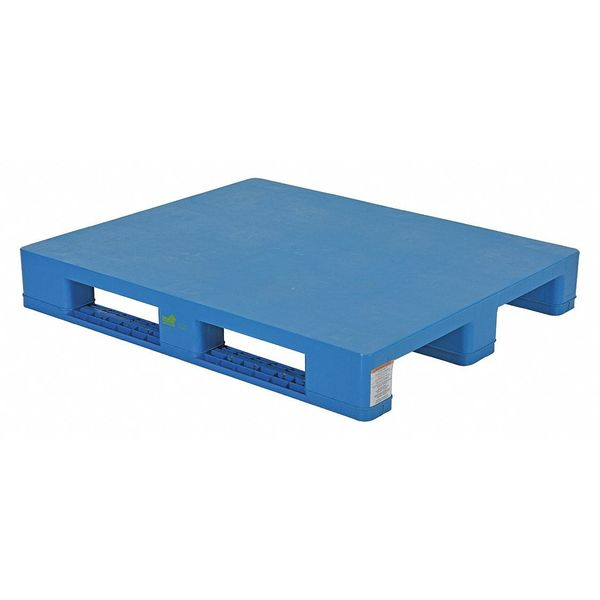 VESTIL-PLPS-H-Solid-Top-Rackable-Plastic-Pallet-Skid