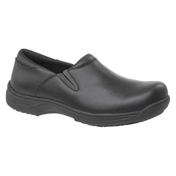 GENUINE GRIP 4700-8.5W Work Shoes, Mens, 8.5W, Blk, Slip On, PR