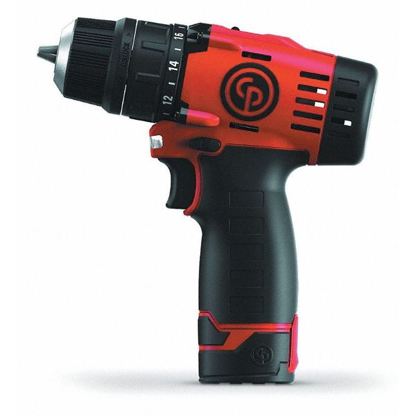"Cordless Drill/Driver,12V,3/8"",Bare Tool CHICAGO PNEUMATIC C"