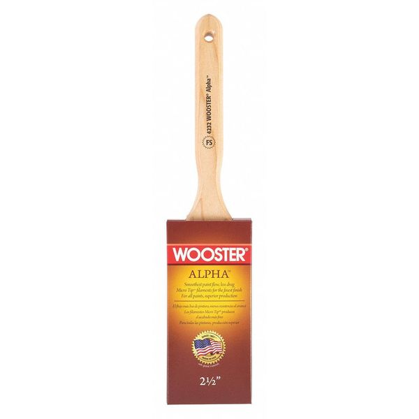 Wooster Brush Q3118-2 1//2 Golden Glo Paintbrush 2-1//2-Inch