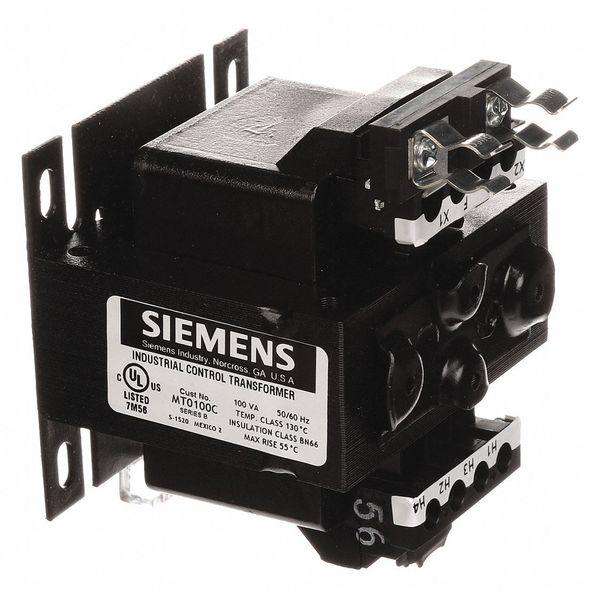 SIEMENS MT0100C Control Transformer,100VA,120 240VAC