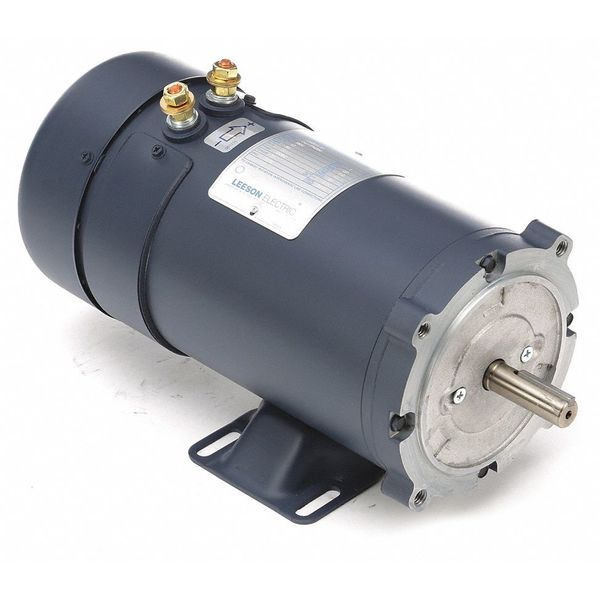 12 Volt Motor >> 1 Hp Dc Motor Electric 12 Volt 56c 1800 Rpm Leeson 108322 Permanent Magnet