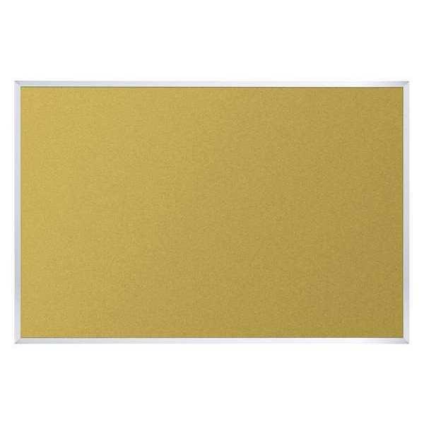 "BEST-RITE 301AA Bulletin Board,24""W x 18"" H,Cork,Natural G5570699"