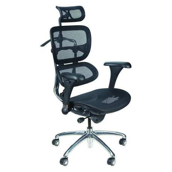 "BALT 34729 Task Chair,Mesh,Black,18"" to 21"" Seat Ht"