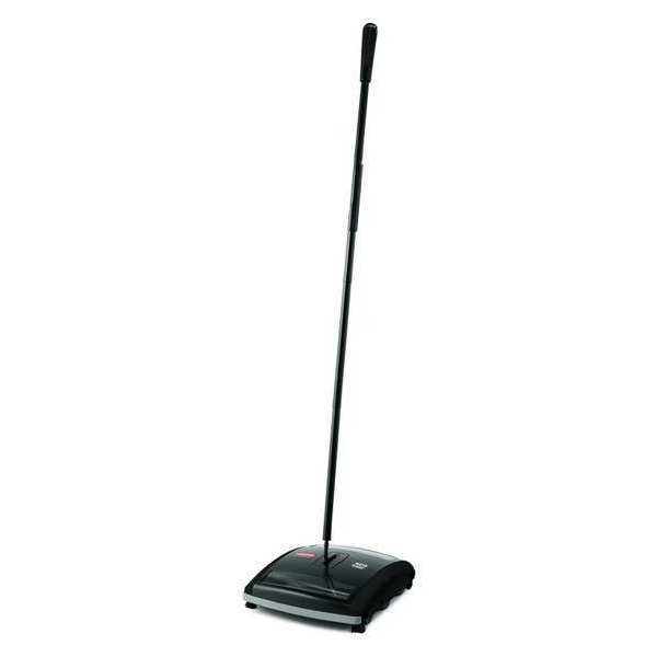 RUBBERMAID FG421588BLA Brushless Mechanical Sweeper,7-1/2""