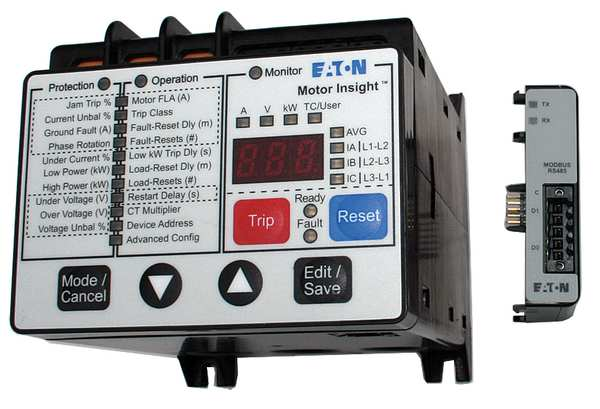 Motor insight c441 by eaton for Motor ground fault protection