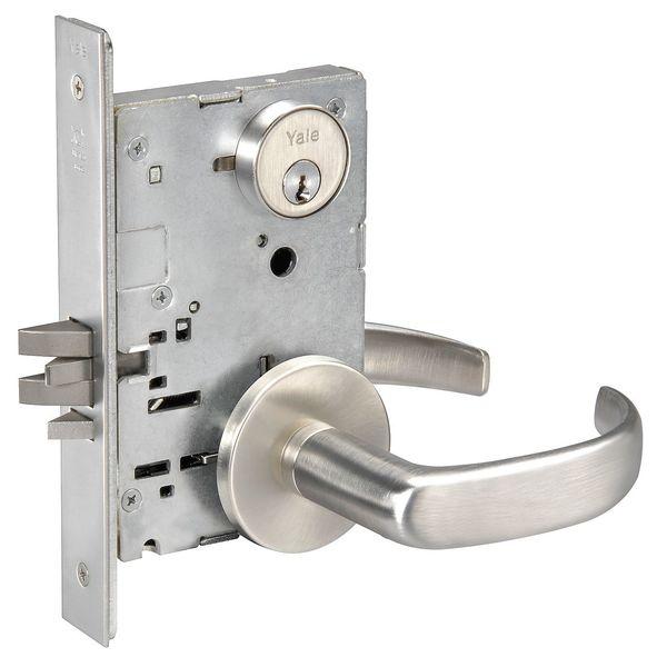 YALE-PBR8805FL-x-626-Lever-Lockset-Mechanical-Storeroom