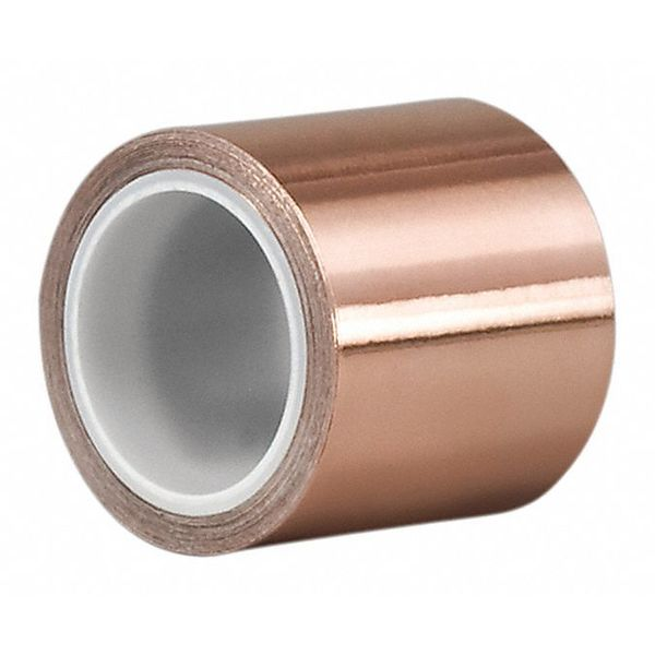 Foil Tape,1 In x 2 In.,Copper,PK5 3M 1181