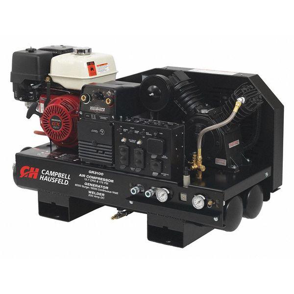 gr3100 compressor generator welder combo 10gal