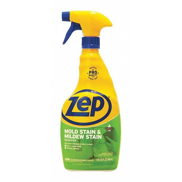 Zep Commercial 1041725 Mold And Mildew Stain Remover 32 Oz