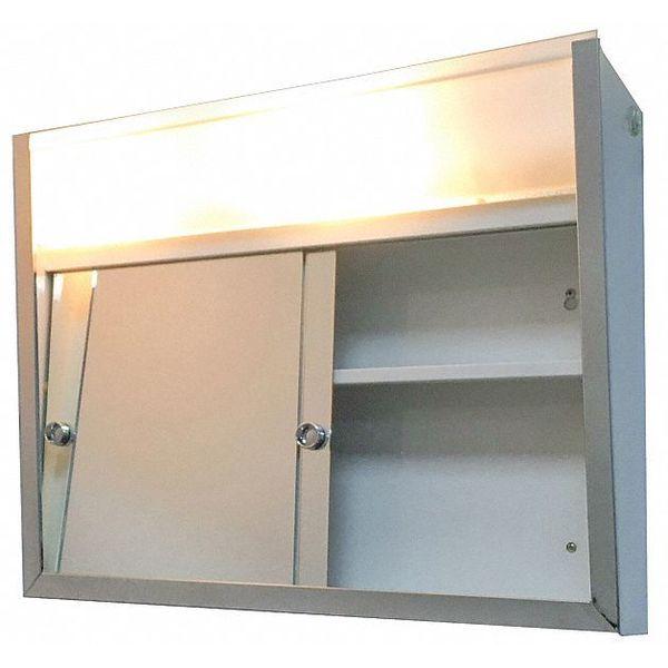 Ketcham Sdl 2419 Sliding Door Surface Mounted Medicine Cabinet With Light