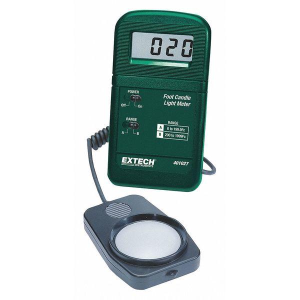 Pocket Foot Candle Light Meter, Extech, 401027