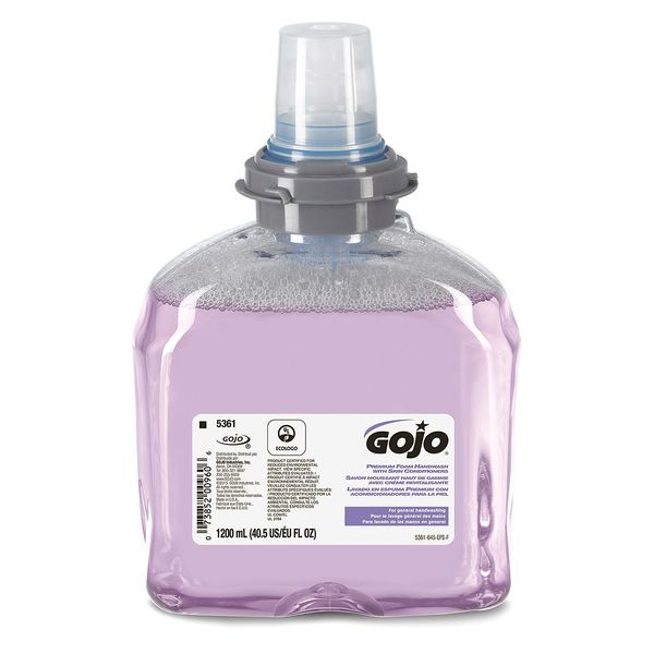 Gojo 1200 Ml Cranberry Foam Soap, 5361-02