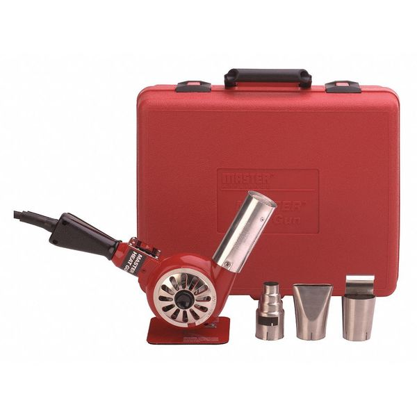 Heat Gun Kit, 750 to 1000F, 14.5A, 23 cfm, Master Industrial