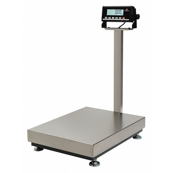 MEASURETEK 12R968 Digital Platform Bench Scale 600 lb./300kg
