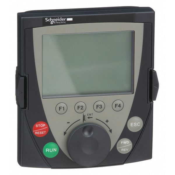 LCD Graphic Keypad, For IP54 Rating, Altivar SCHNEIDER ELECTRIC VW3A1101