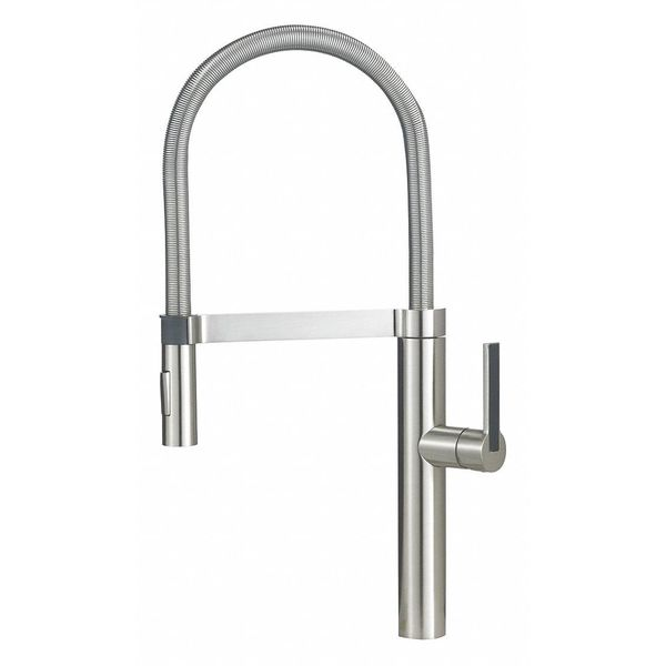 Blanco 441332 Culina Semi-Pro Kitchen Faucet, Satin Nickel