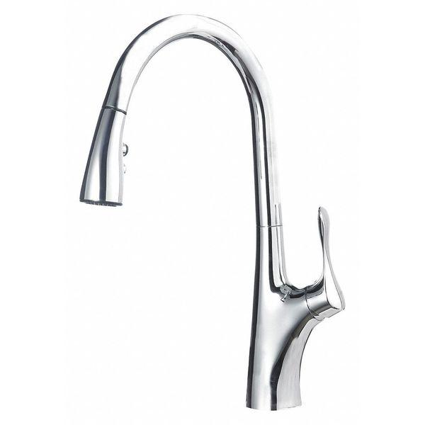 BLANCO 441506 Napa Pull-Down Kitchen Faucet,Chrome
