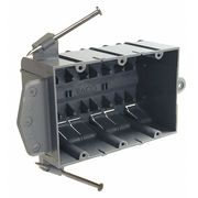 Electrical Box,Cable,44 cu. in.,3 Gang