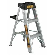 3 Steps, Aluminum Step Stand, 300 lb. Load Capacity,