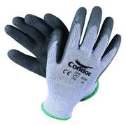 Cut Resist Gloves Gloves,Gray,Latex,S,PR