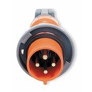 IEC Pin and Sleeve Plug,3P,4W,100A,250V