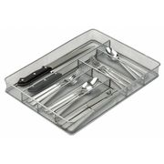 Cutlery Tray, 6 Compartments, Silver