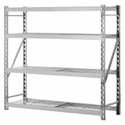 Bulk Storage Rack,Steel,8000 lb.,Silver