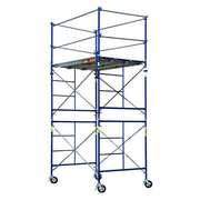 Scaffold Tower, 5 ft.L, With Casters