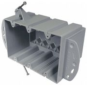 Electrical Box,3 Gang,74 cu in,PVC