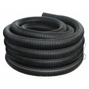 Corrugated Drainage Pipe,100 ft. L,Solid